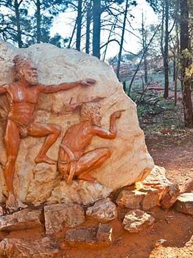Les aborigènes de l'Australie