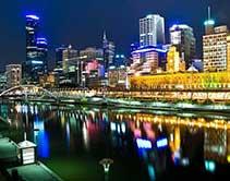 Melbourne de l'Australie