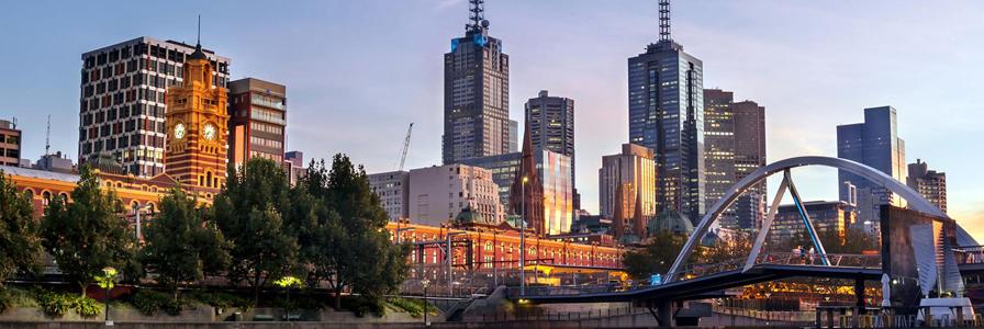 rejoindre Melbourne