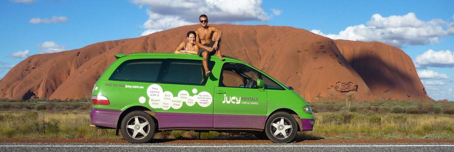 un véhicule en Australie